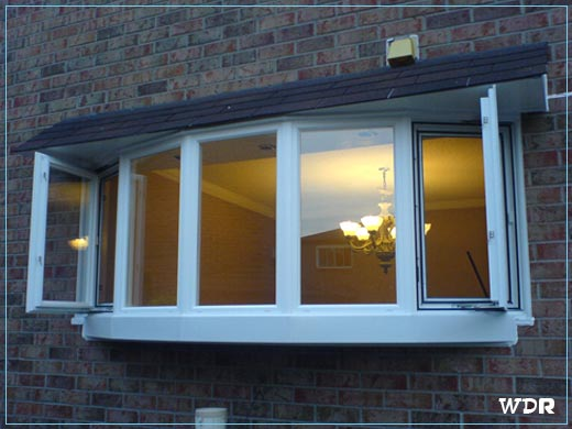Replacement windows which vinyl replacement window is best for Bow window replacement